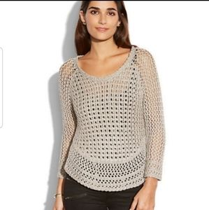 Lucky Brand Marissa Knit Metallic Sweater